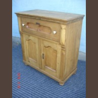 Country pine base cabinet /original item, waxfinished condition