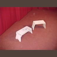 Festett asztal