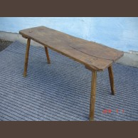 Country pine bench /original item, waxfinished condition