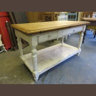 Fenyő asztal széthajtható asztaltetővel