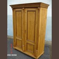 Fenyő kétajtós szekrény / eredeti darab, késztermék