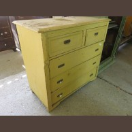 5-drawer Pine Chest of Drawers