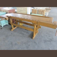 Joiner's bench / original old item / finished condition
