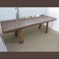 Fenyő dohányzó asztal / eredeti darab / késztermék