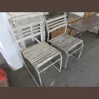 Fémvázas szék 2 db / eredeti darabok / késztermék