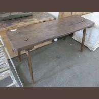 Fenyő asztalka / eredeti darab / késztermék